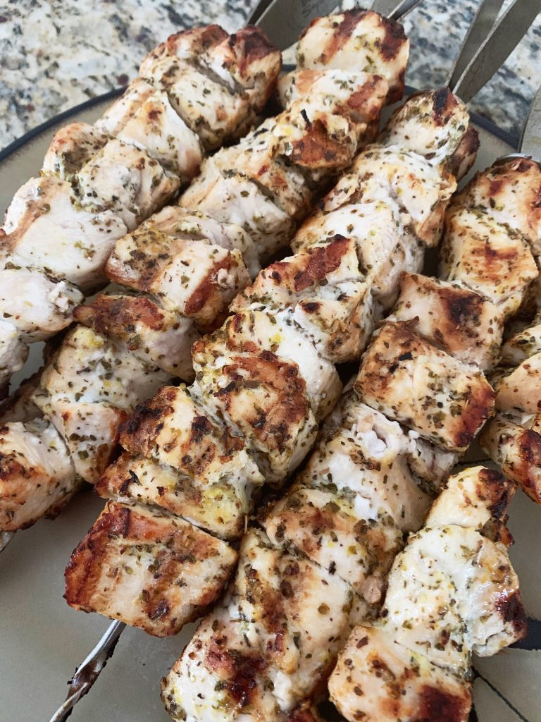 cooked lemon grilled chicken