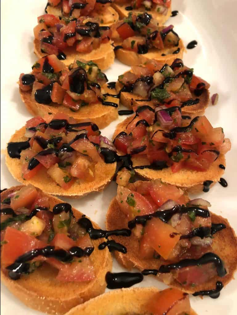 Bruschetta with Balsamic