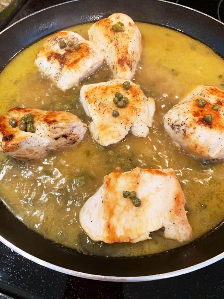 Simple Gluten-Free Chicken Piccata