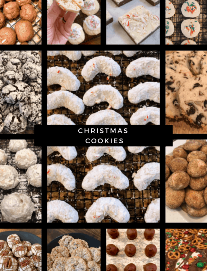 Christmas Cookie List