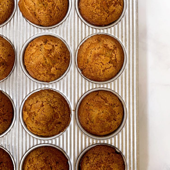 Peanut Butter Honey Muffins